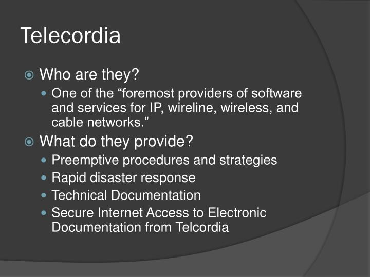 Telecordia