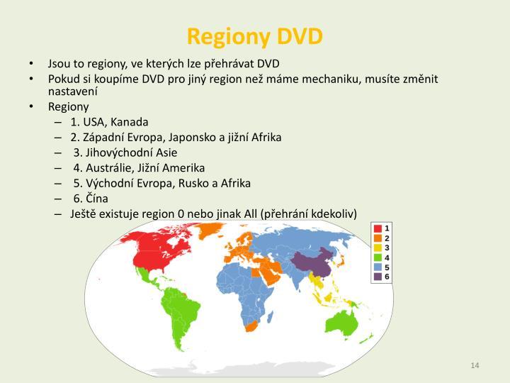 Regiony DVD