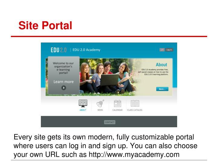 Site Portal