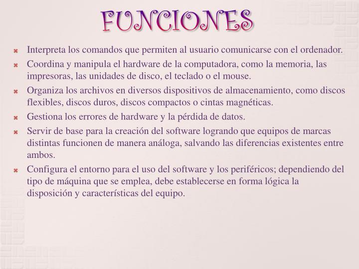 FUNCIONES