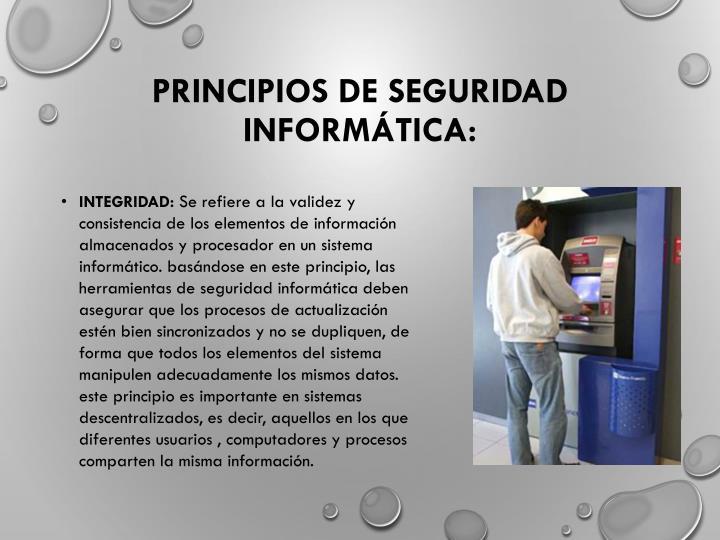Principios de Seguridad Informática: