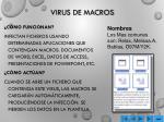 virus de macros
