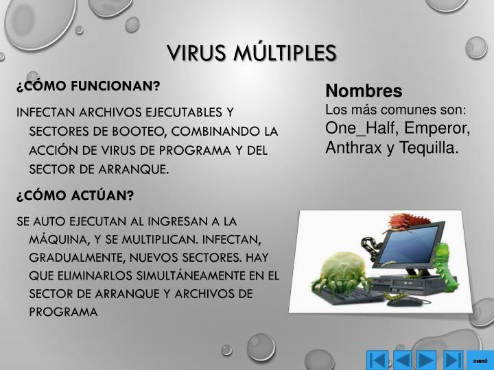Virus múltiples