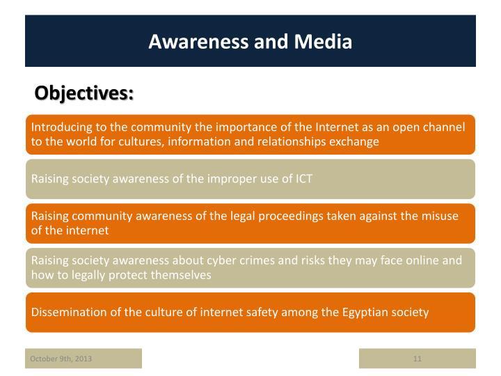 Awareness and Media