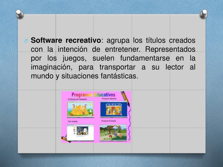 Software recreativo