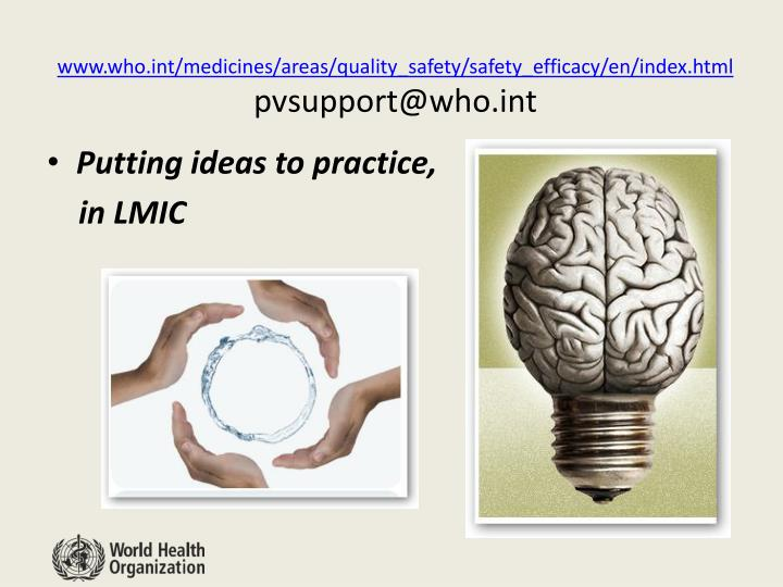 www.who.int/medicines/areas/quality_safety/safety_efficacy/en/index.html