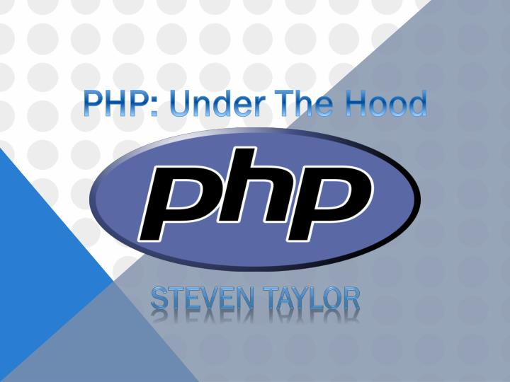 PHP: Under The Hood