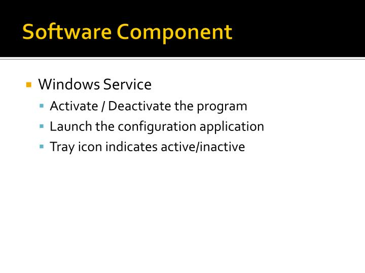 Software Component