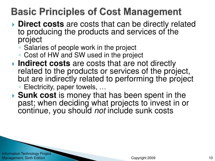 cost control principles Home » courses » finance & accounting » the essentials of budgeting & cost control  budgeting & cost control principles  depend on cost control and.
