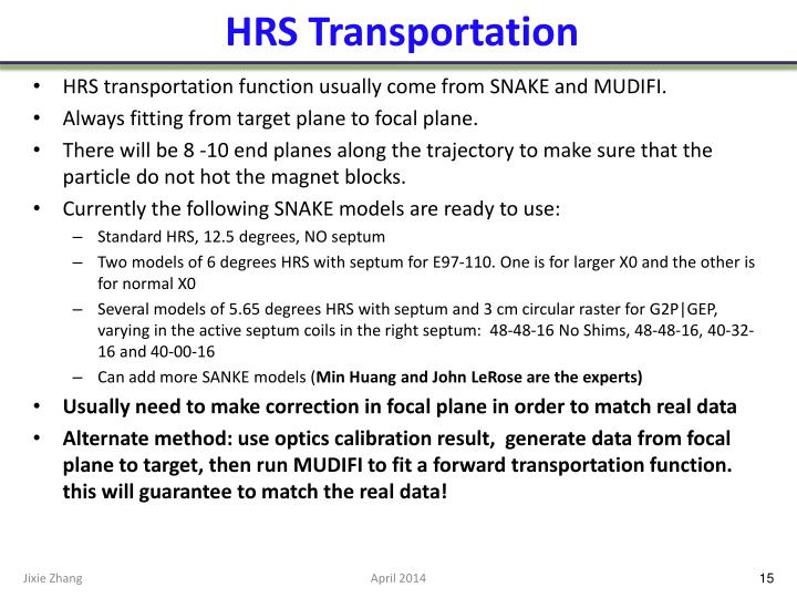 HRS Transportation