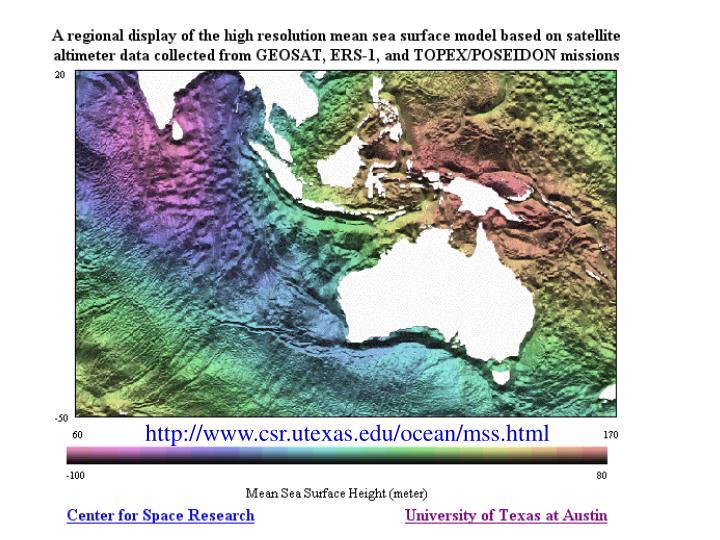 http://www.csr.utexas.edu/ocean/mss.html