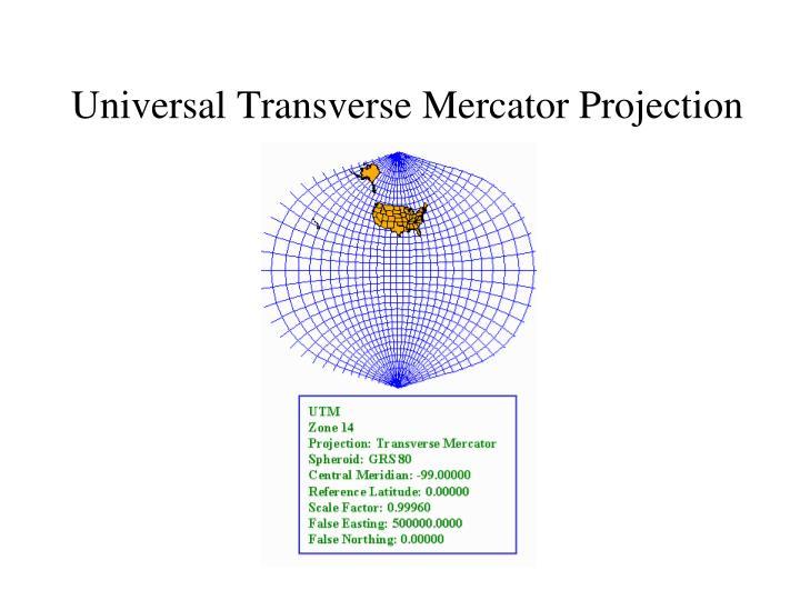 Universal Transverse Mercator Projection