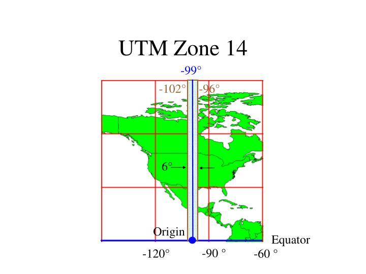 UTM Zone 14
