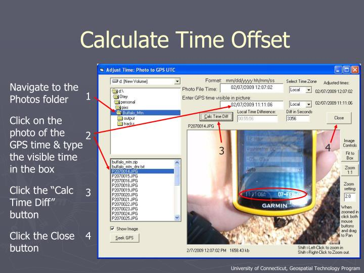Calculate Time Offset