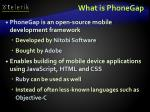what is phonegap2