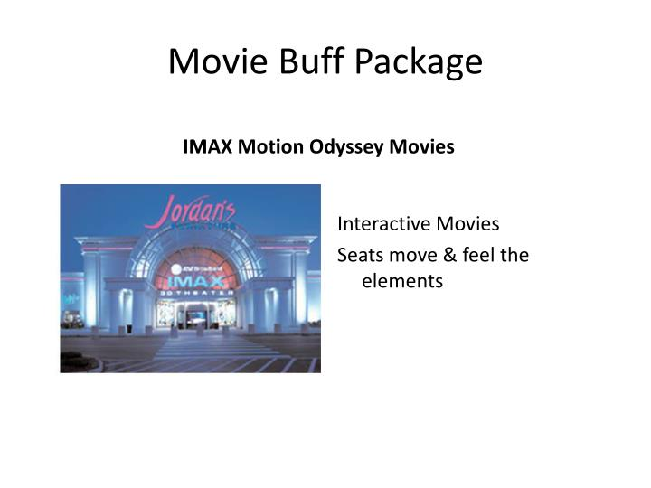 Movie Buff Package