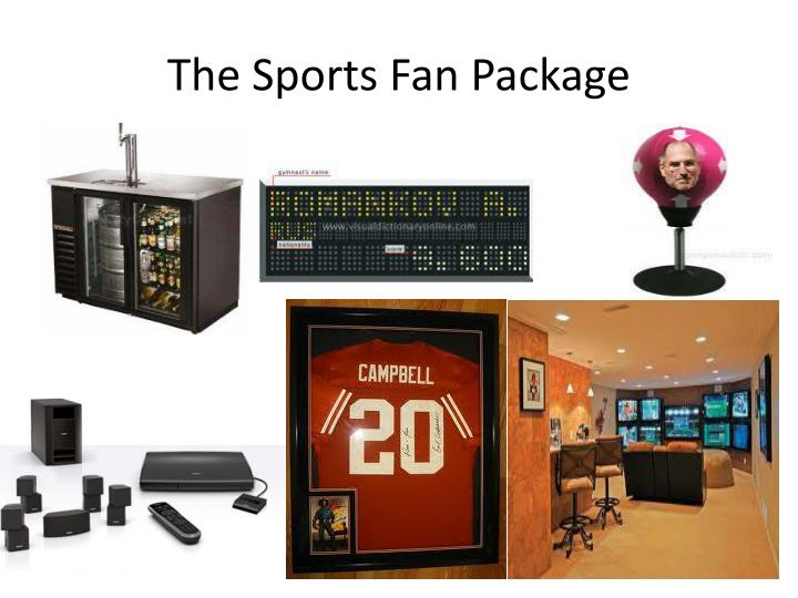 The Sports Fan Package
