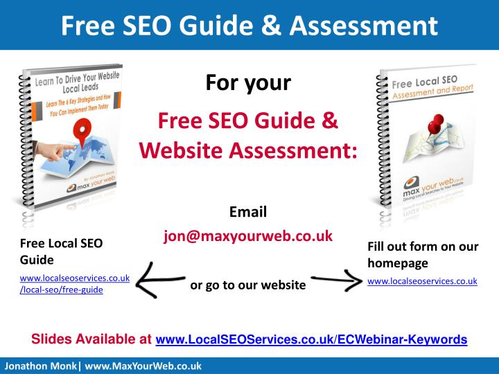 Free SEO Guide & Assessment