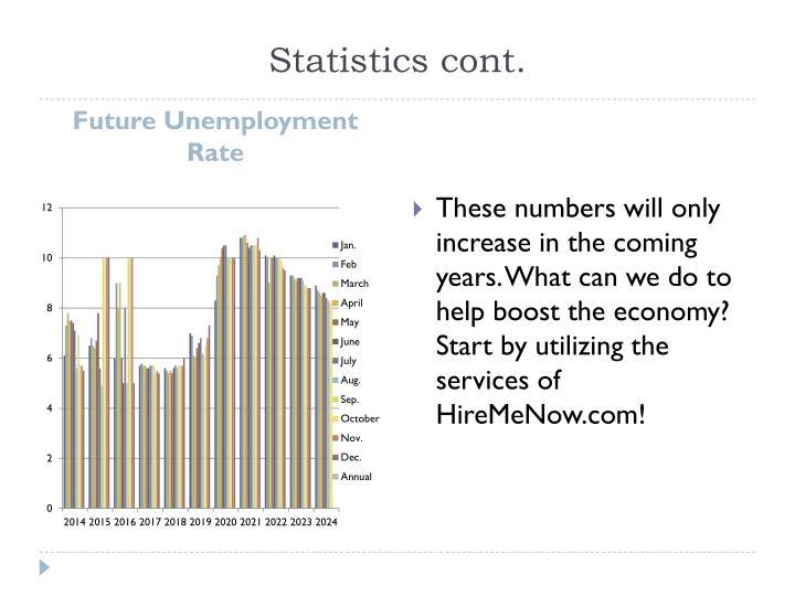 Statistics cont