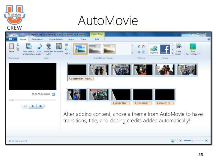 AutoMovie
