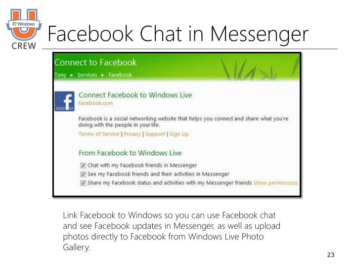 Facebook Chat in Messenger