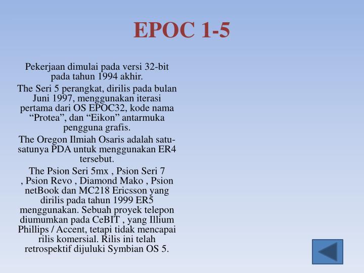 EPOC 1-5