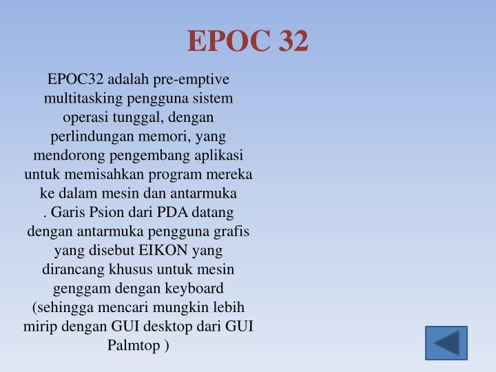 EPOC 32