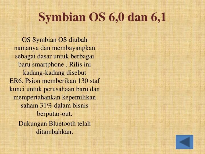 Symbian OS 6,0