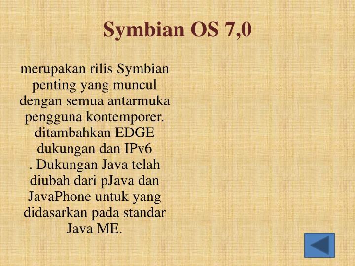 Symbian OS 7,0