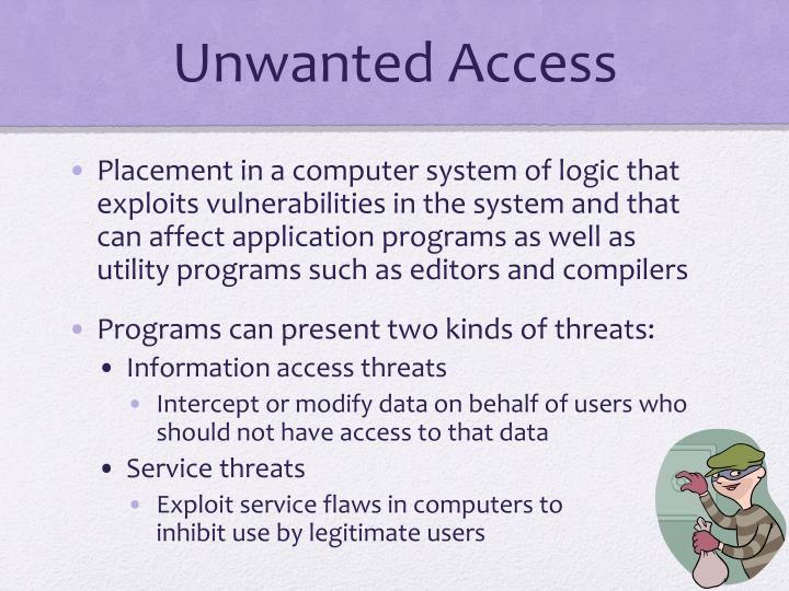 Unwanted Access