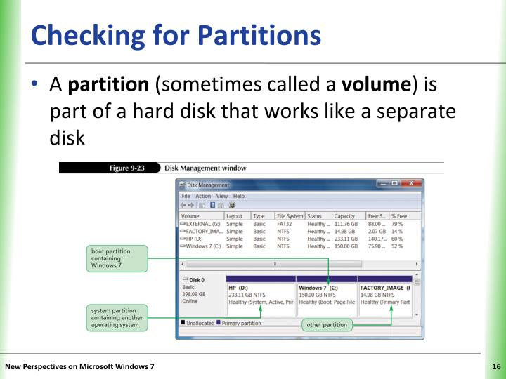 Checking for Partitions