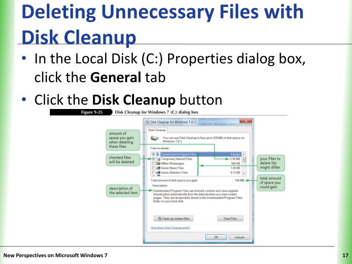 Deleting Unnecessary Files with Disk Cleanup