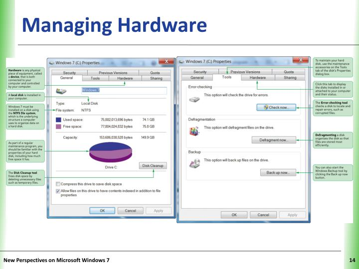 Managing Hardware