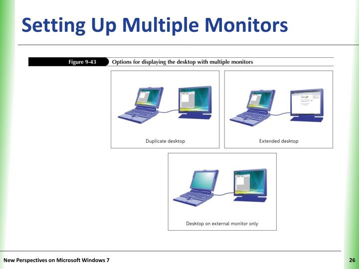 Setting Up Multiple Monitors