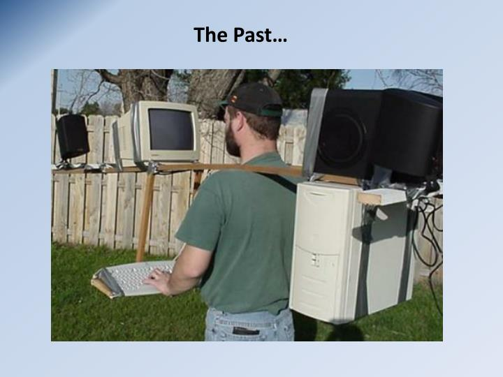 The Past…