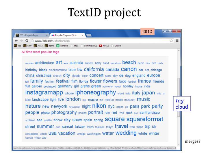 TextID