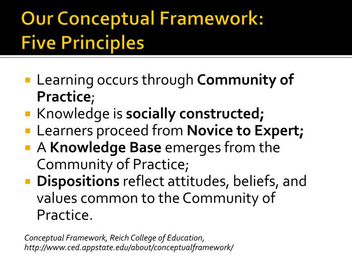 Our Conceptual Framework: