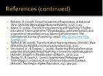 references continued3