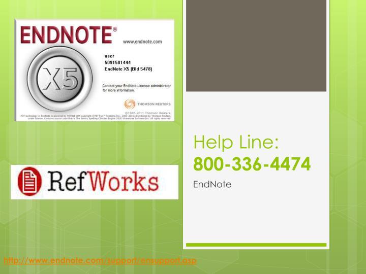Help Line: