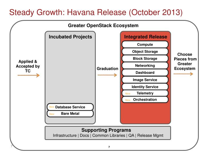 Steady Growth: Havana Release (October 2013)