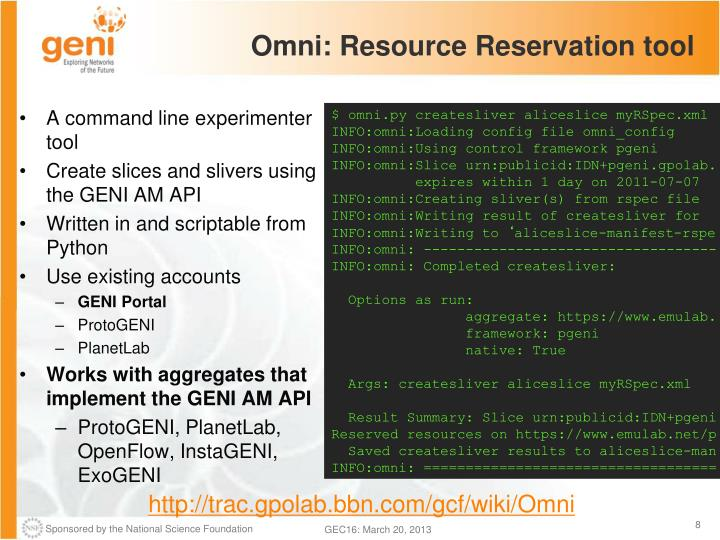 Omni: Resource Reservation tool