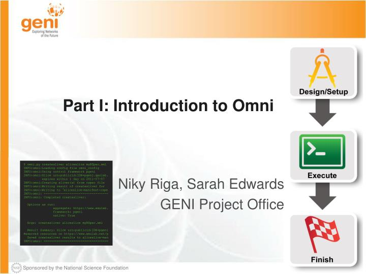 Part I: Introduction to Omni