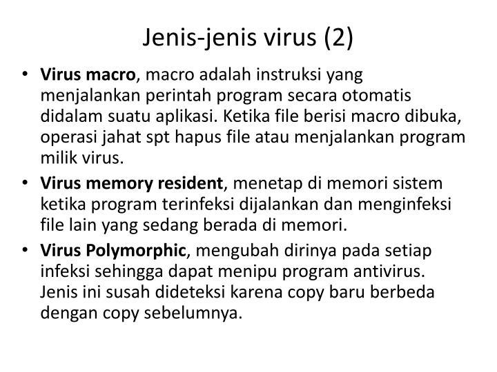 Jenis-jenis virus (2)