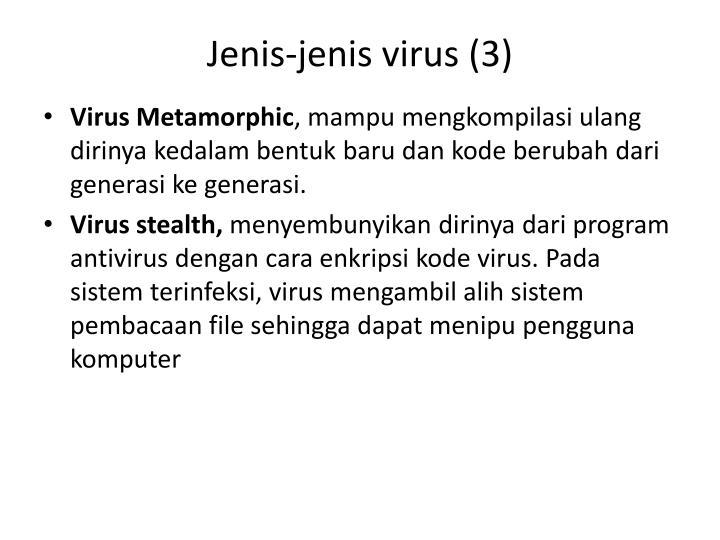 Jenis-jenis virus (3)