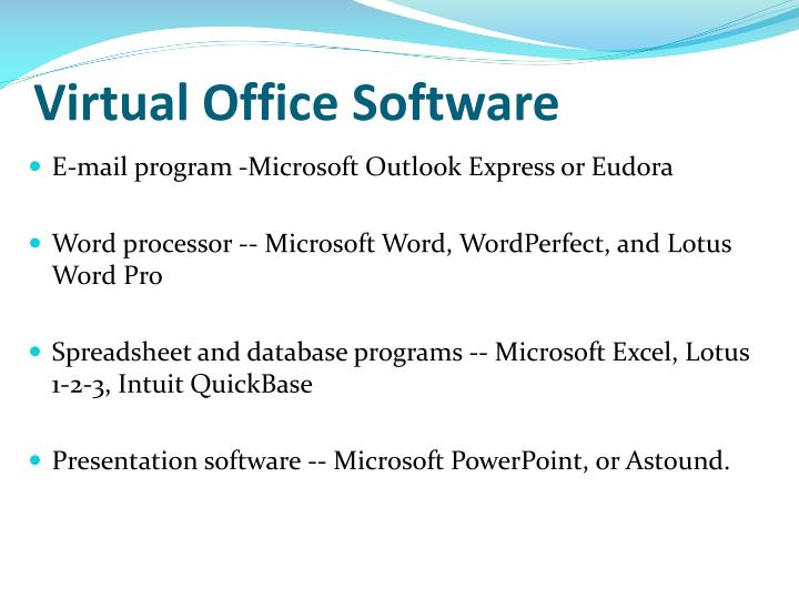 Virtual Office Software