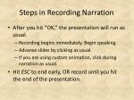 steps in recording narration2