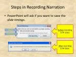 steps in recording narration3
