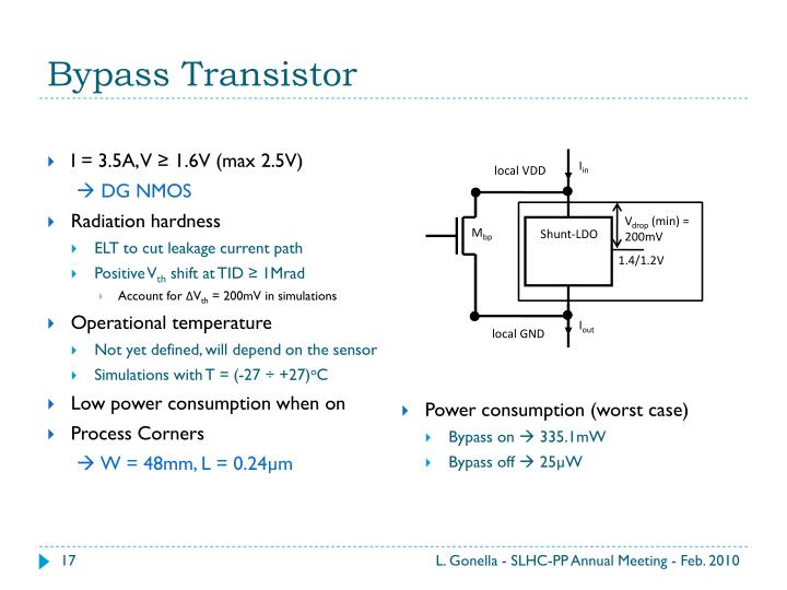 Bypass Transistor
