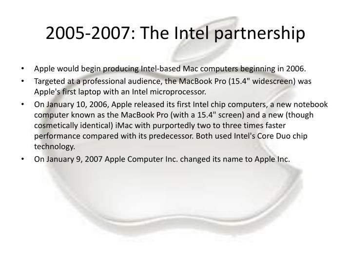 2005-2007: