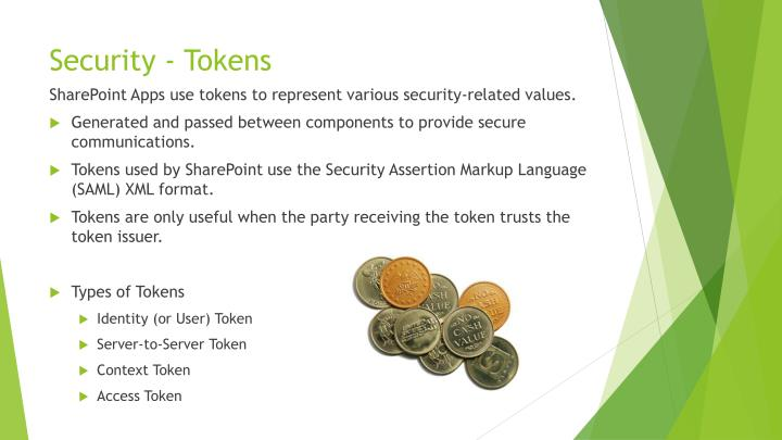 Security - Tokens